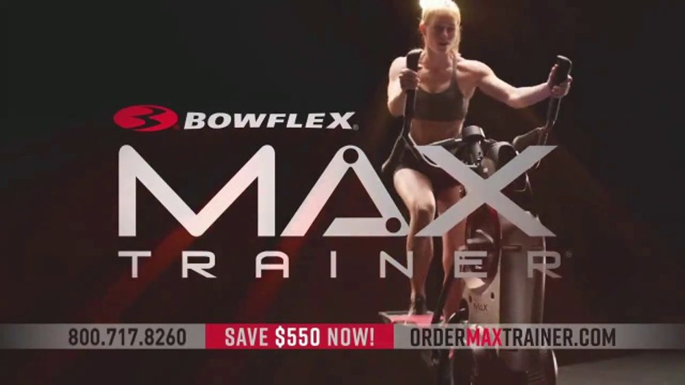 Bowflex New Year's Sale TV Commercial, 'Max Trainer: The Fastest Workout'