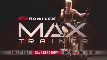 Bowflex New Year\'s Sale TV Spot, \'Max Trainer: The Fastest Workout\'