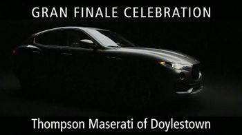 Maserati Gran Finale Celebration TV Spot, 'The Maserati of SUVs' [T2] - Thumbnail 1