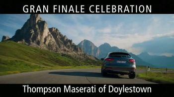 Maserati Gran Finale Celebration TV Spot, 'The Maserati of SUVs' [T2]