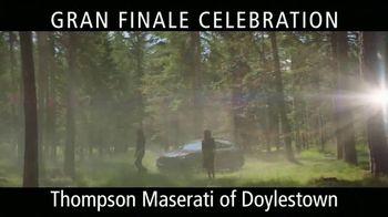 Maserati Gran Finale Celebration TV Spot, 'The Maserati of SUVs' [T2] - Thumbnail 3