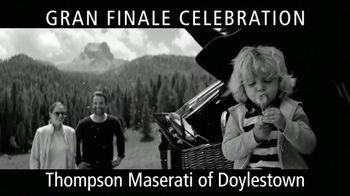 Maserati Gran Finale Celebration TV Spot, 'The Maserati of SUVs' [T2] - Thumbnail 4