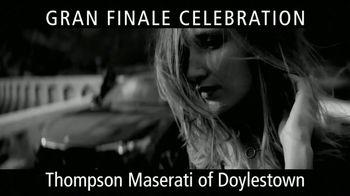 Maserati Gran Finale Celebration TV Spot, 'The Maserati of SUVs' [T2] - Thumbnail 6