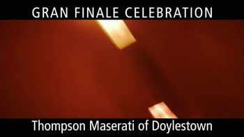 Maserati Gran Finale Celebration TV Spot, 'The Maserati of SUVs' [T2] - Thumbnail 7
