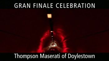 Maserati Gran Finale Celebration TV Spot, 'The Maserati of SUVs' [T2] - Thumbnail 8