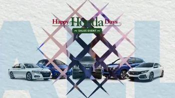 Happy Honda Days TV Spot, 'Best Deals of the Year' [T2] - Thumbnail 1
