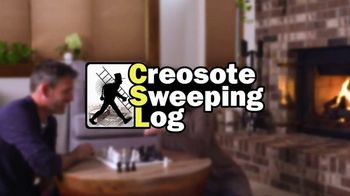 Creosote Sweeping Log TV Spot, 'Protect Your Home' - Thumbnail 10