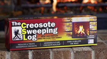 Creosote Sweeping Log TV Spot, 'Protect Your Home'