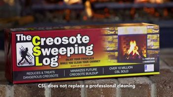 Creosote Sweeping Log TV Spot, 'Protect Your Home' - Thumbnail 8