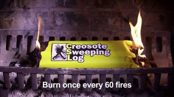Creosote Sweeping Log TV Spot, 'Protect Your Home' - Thumbnail 9