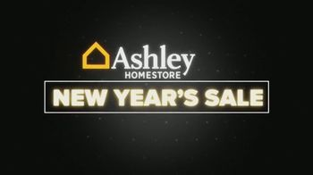 Ashley HomeStore New Year's Sale TV Spot, 'Free Delivery' - Thumbnail 1
