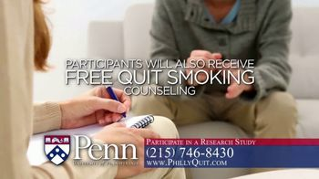 University of Pennsylvania TV Spot, 'Smoker's Research Study' - Thumbnail 7