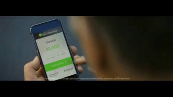 Intuit QuickBooks Smart Invoice TV Spot, 'Backing Jimmy Gallagher' - Thumbnail 3