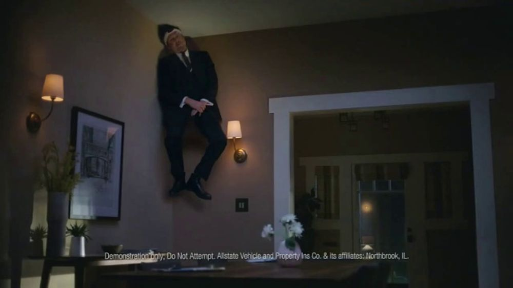 Allstate TV Commercial, 'Mayhem: Home Security' Featuring Dean Winters -  Video