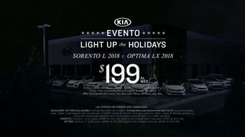 Kia Evento Light Up the Holidays TV Spot, 'Sorento y Optima' [Spanish] - Thumbnail 7