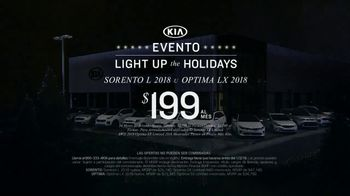 Kia Evento Light Up the Holidays TV Spot, 'Sorento y Optima' [Spanish] - Thumbnail 6