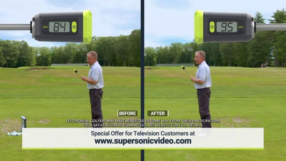 Super Sonic X10 TV Commercial, 'See Your Swing Speed' - Video