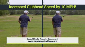 Super Sonic X10 TV Spot, 'See Your Swing Speed' - Thumbnail 9