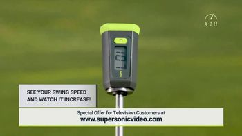 Super Sonic X10 TV Spot, 'See Your Swing Speed' - Thumbnail 2