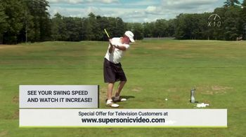 Super Sonic X10 TV Spot, 'See Your Swing Speed' - Thumbnail 3
