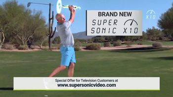 Super Sonic X10 TV Spot, 'See Your Swing Speed' - Thumbnail 5