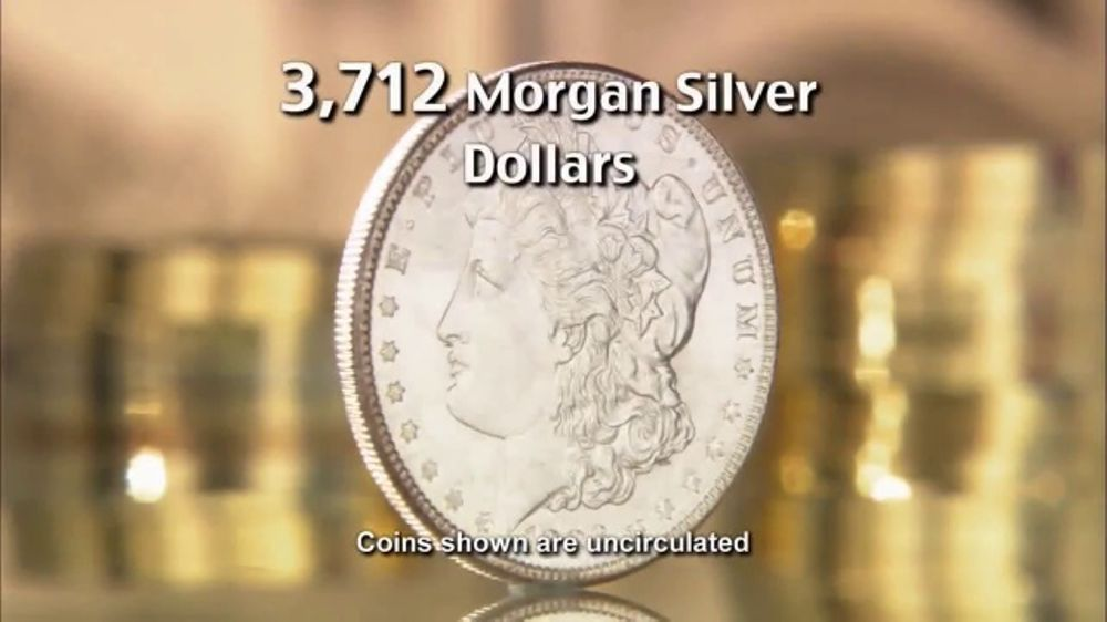 National Collector's Mint TV Commercial, 'Morgan Silver Dollar: Just Located!'