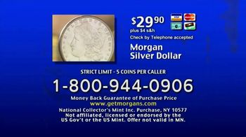 National Collector's Mint TV Spot, 'Morgan Silver Dollar: Pure Silver' - Thumbnail 7