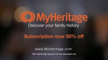 MyHeritage New Year's Discount TV Spot, 'Amazing Discoveries' - Thumbnail 10