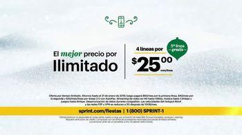 Sprint Unlimited TV Spot, 'Llévate los mejores regalos' [Spanish] - Thumbnail 6