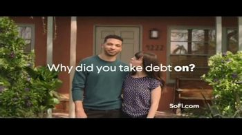 SoFi Personal Loans TV Spot, 'Why Did You Take Debt On?'