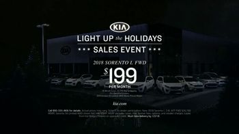 Kia Light Up the Holidays Sales Event TV Spot, 'Light Show' [T2] - Thumbnail 8