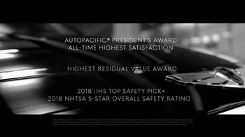 2018 Genesis G80 TV Spot, 'Loved and Awarded' Song by Izzy Bizu - Thumbnail 5
