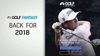 Golf Fantasy TV Spot, \'Follow Along in Realtime\'
