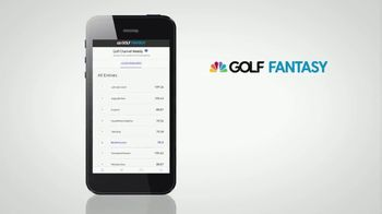 Golf Fantasy TV Spot, 'Follow Along in Realtime' - Thumbnail 9