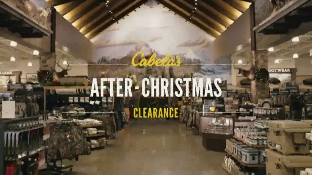 cabelas after christmas clearance tv commercial track down the best deals ispottv - Best Deals After Christmas