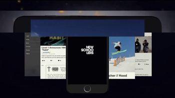 Newschoolers App TV Spot, 'Skiing' - Thumbnail 1