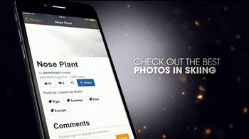 Newschoolers App TV Spot, 'Skiing' - Thumbnail 4