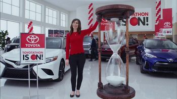 Toyota Toyotathon TV Spot, 'Hourglass' [T2] - 143 commercial airings