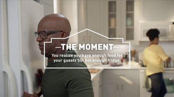 Lowe's TV Spot, 'The Moment: Not Enough Fridge: 30 Percent' - Thumbnail 4