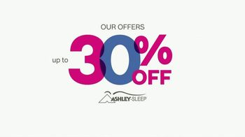 Ashley HomeStore New Year's Savings Bash TV Spot, 'Ashley Sleep Sets' - Thumbnail 5