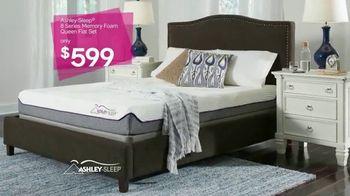 Ashley HomeStore New Year's Savings Bash TV Spot, 'Ashley Sleep Sets' - Thumbnail 6