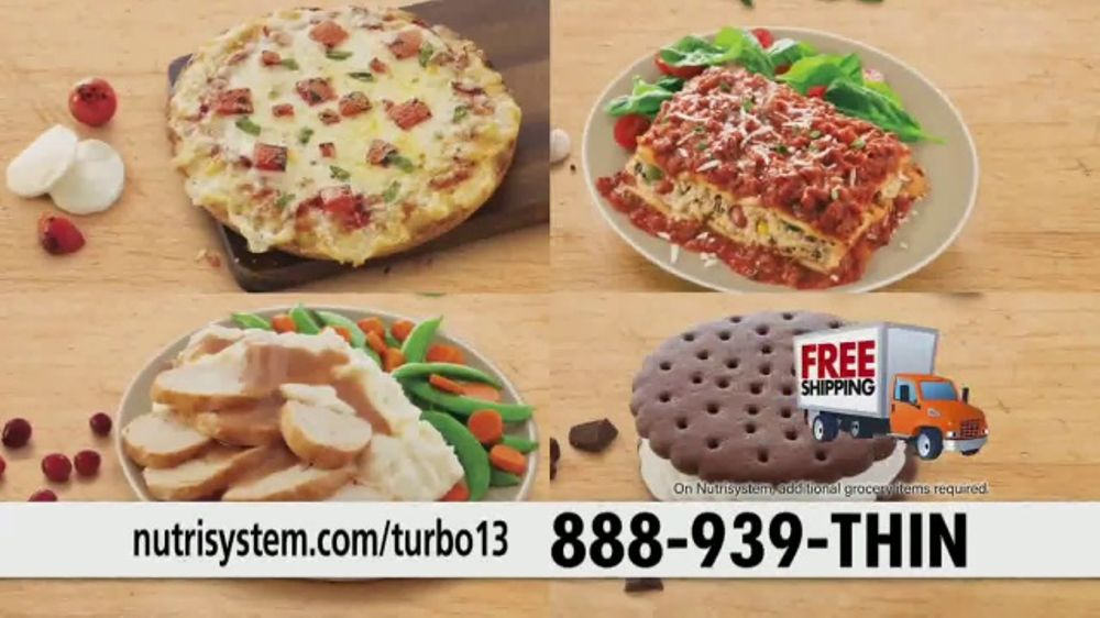 Nutrisystem Turbo 13 TV Commercial, 'Drop the Weight'