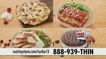 Nutrisystem Turbo 13 TV Spot, 'Drop the Weight' - 77 commercial airings