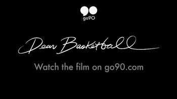 Go90 TV Spot, 'Dear Basketball: Kobe Bryant' - Thumbnail 9