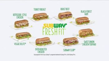 Subway Fresh Fit TV Spot, 'Goals' - Thumbnail 10