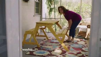 Wayfair TV Spot, 'Done Is Fun'