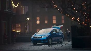 Happy Honda Days TV Spot, 'Holiday Road Trip: 2018 Fit' [T2] - Thumbnail 2