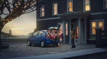 Happy Honda Days TV Spot, 'Holiday Road Trip: 2018 Fit' [T2] - Thumbnail 3