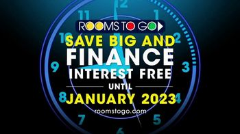 Rooms to Go TV Spot, '2023 Interest-Free Financing' - Thumbnail 10