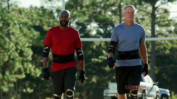 Copper Fit Advanced Back Pro TV Spot, 'Legends' Ft. Brett Favre, Jerry Rice - 1463 commercial airings